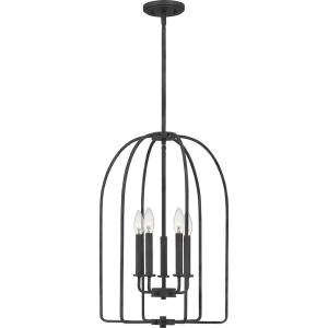 Cornell 5-Light Marcado Black Pendant
