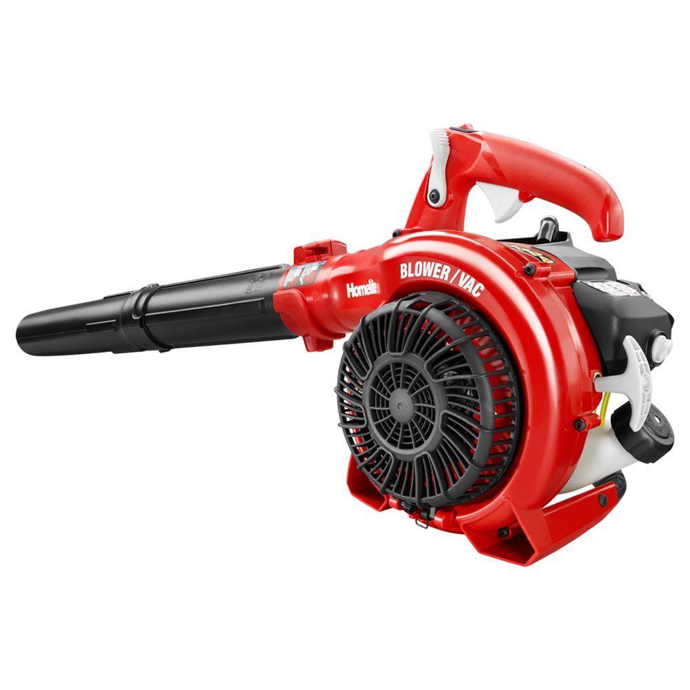 Homelite 150 MPH 400 CFM 26cc Gas Handheld Blower Vacuum by Homelite
