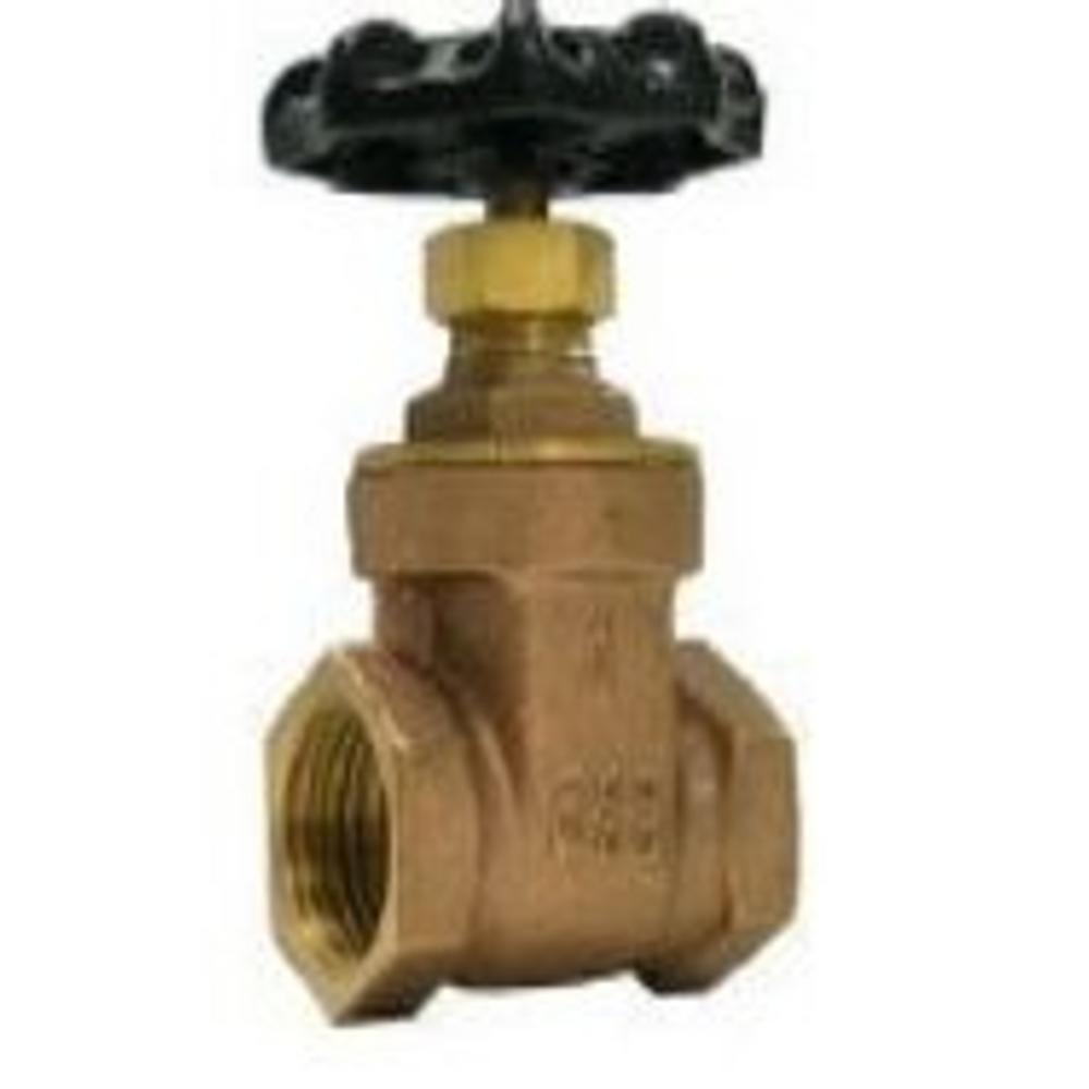 4 in. FPT Brass Gate Valve