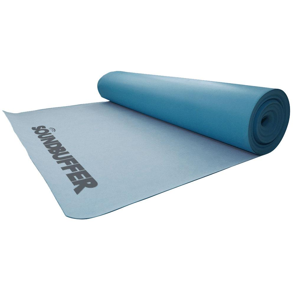 SoundBuffer - 3 ft. x 33.4 ft. x 3/64 in. Underlayment