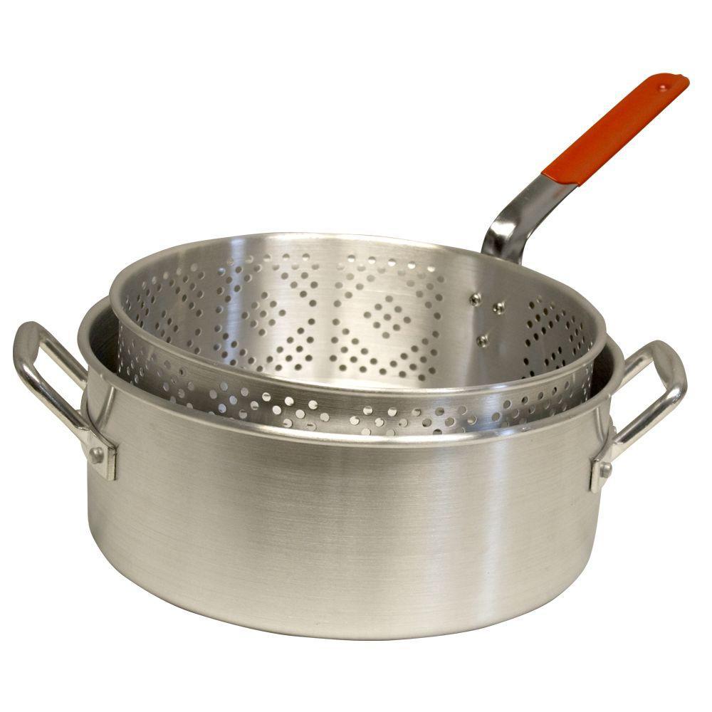 Masterbuilt 10 Qt. Aluminum Pot and Basket