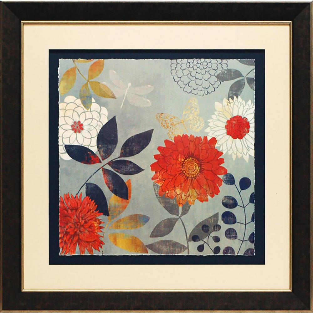 28 in. x 28 in. Botanical I Printed Framed Wall Art