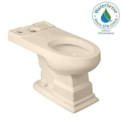 Structure Suite Elongated Toilet Bowl Only in Biscuit