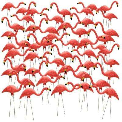 27 in. Pink Flamingo (50-Pack)