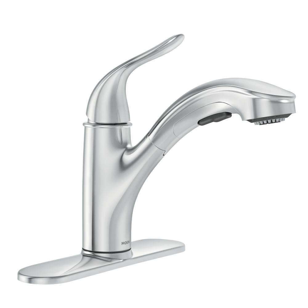 Moen Brecklyn Single Handle Pull Out