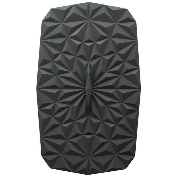 Rectangular Suction 9x6 Silicone Lid in Black GIRLD8111BLK