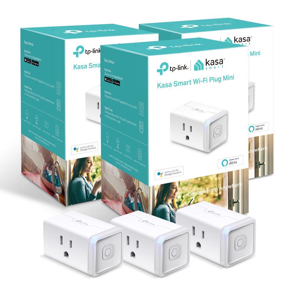Kasa Smart HS105, White (3-Pack)