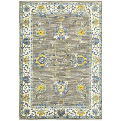 Selena Taupe 10 ft. x 13 ft. Area Rug