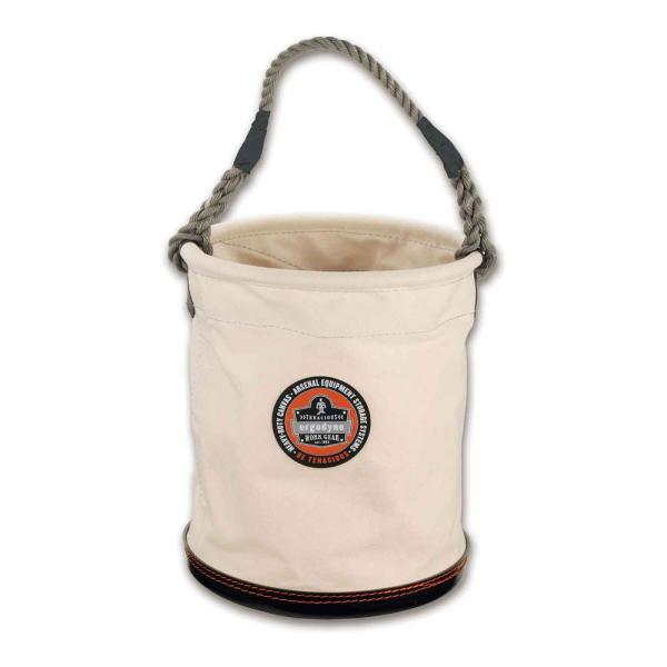 Arsenal 12.5 in Tool Bucket in White Canvas