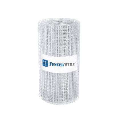 2 ft. x 50 ft. 16-Gauge Welded Wire Fence with Mesh 1/2 in. x 1 in.