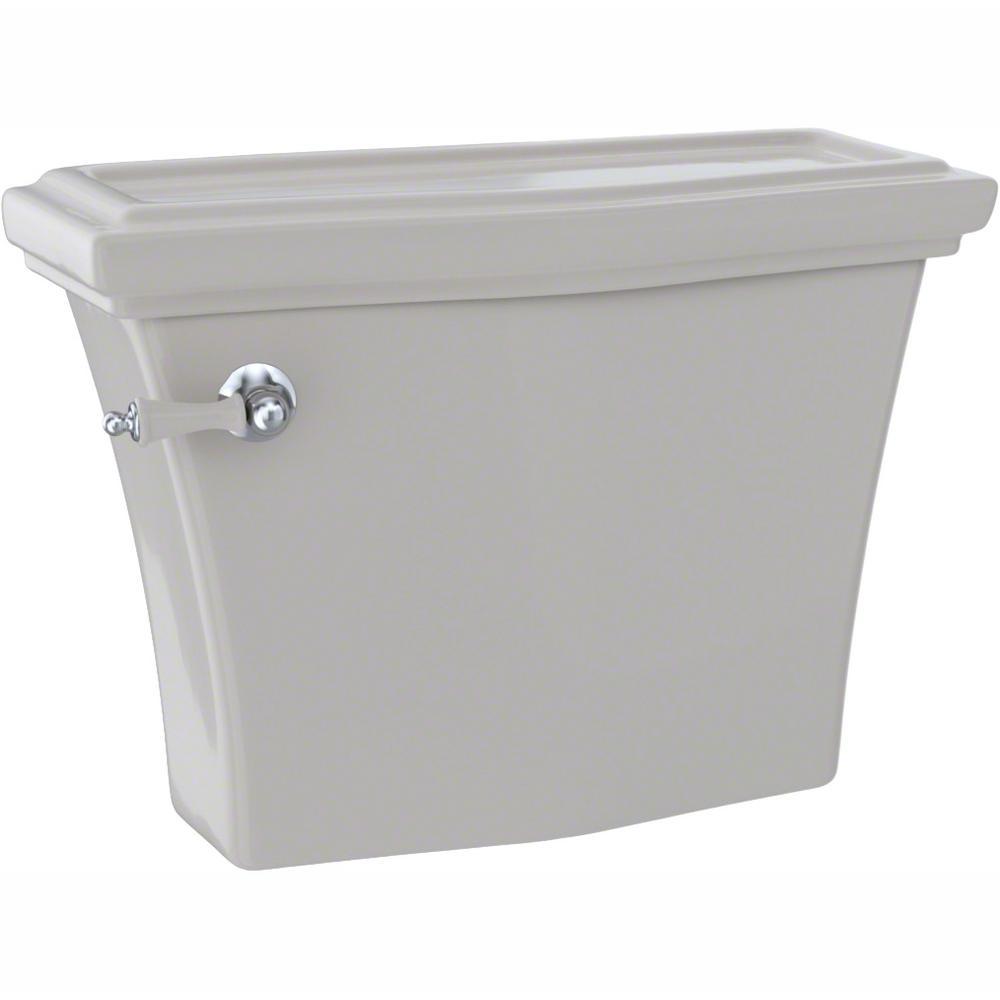 Clayton 1.28 GPF Single Flush Toilet Tank Only in Sedona Beige