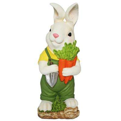 24 in. Easter Bunny with Carrot and Tools