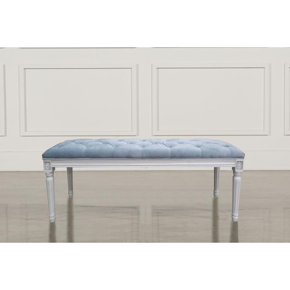 Christie's XL Serenity Velvet French Bench