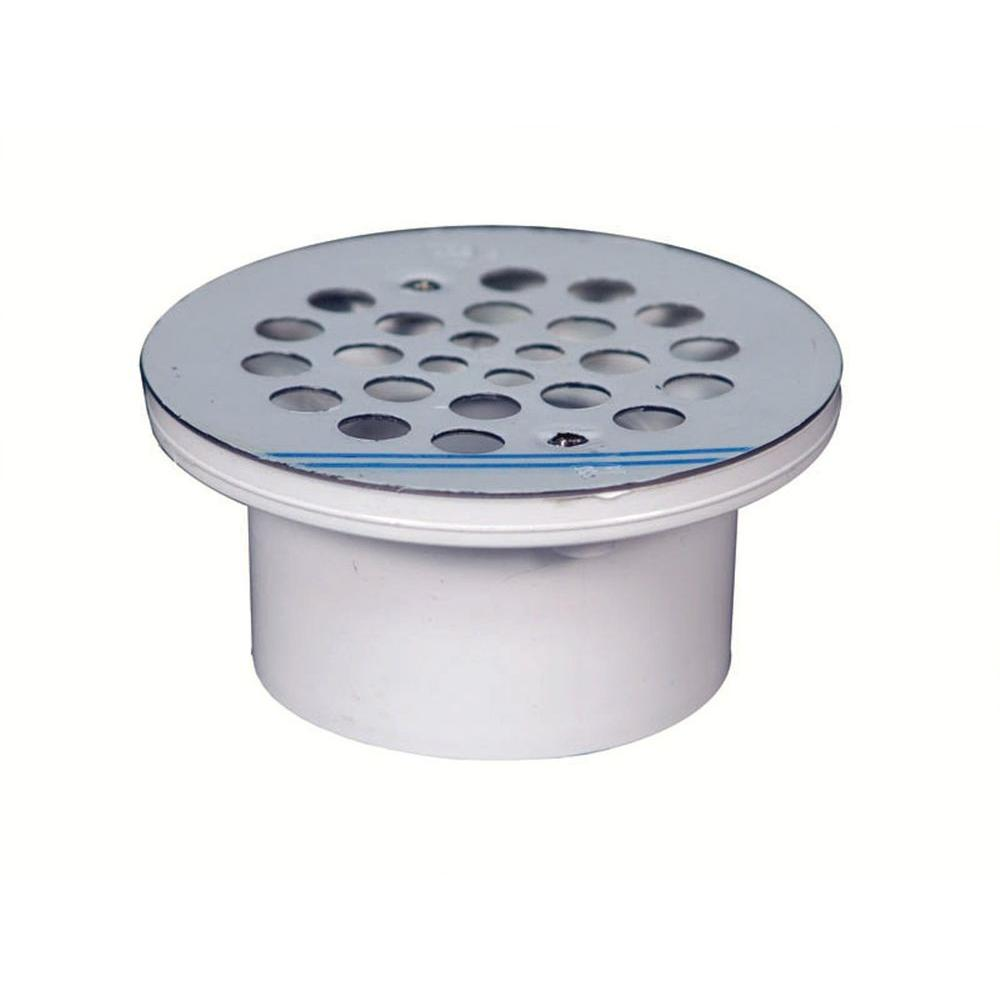 Water tite in stainless steel general purpose drain for