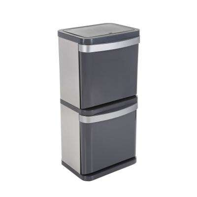 16 Gal. Sort2 Indoor Recycling Bin