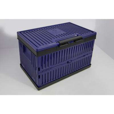 Foldable 37 Quart Cooler and Crate-Blue