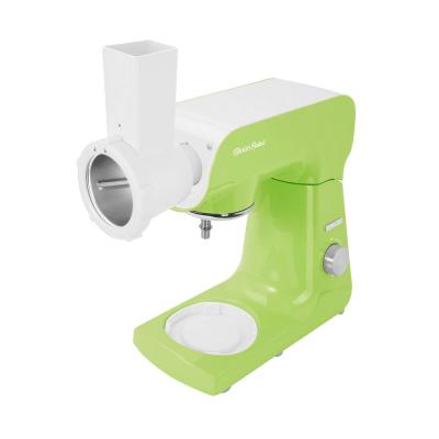 Sencor-4.75 Qt. 8-Speed Pastel Lime Green Stand Mixer with Beater, Whisk, Food Grinder and Dough Hook Attachments