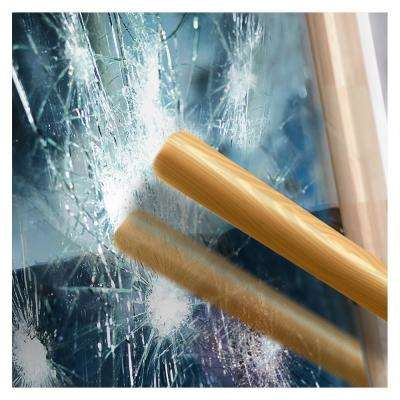 48 in. x 24 ft. S4MS15 Silver 4 Mil Security and One Way Mirror Window Film
