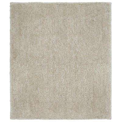 Ethereal Cream Beige 8 ft. x 8 ft. Square Indoor Area Rug