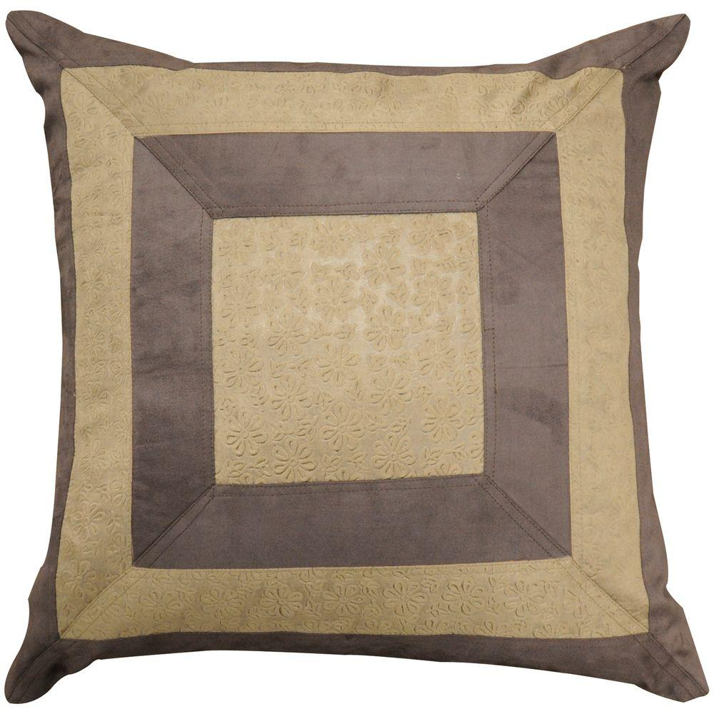 Artistic Weavers SquaresB 18 in. x 18 in. Decorative Down Pillow