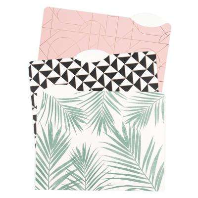 Modern Pretty Fashion File Folders 2 in. Expansion Letter Size (24-Pack)