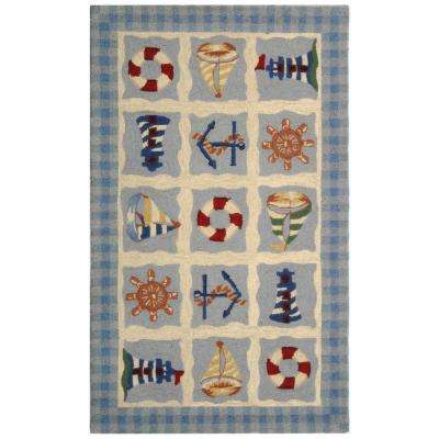 Chelsea Ivory 2 ft. 9 in. x 4 ft. 9 in. Area Rug