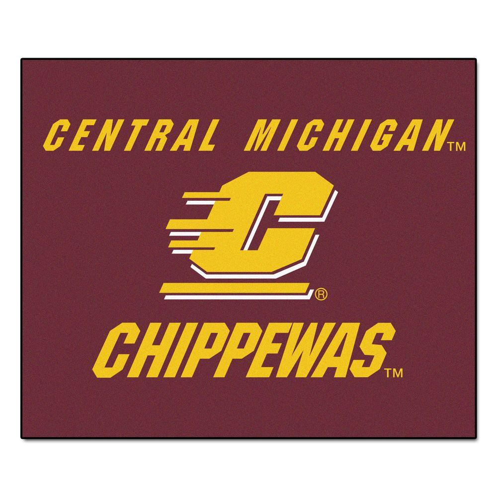 Central Michigan University 5 ft. x 6 ft. Tailgater Rug