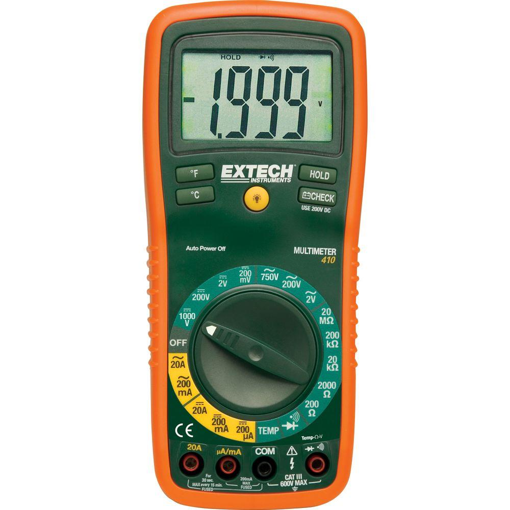 Manual-Ranging Digital Multimeter