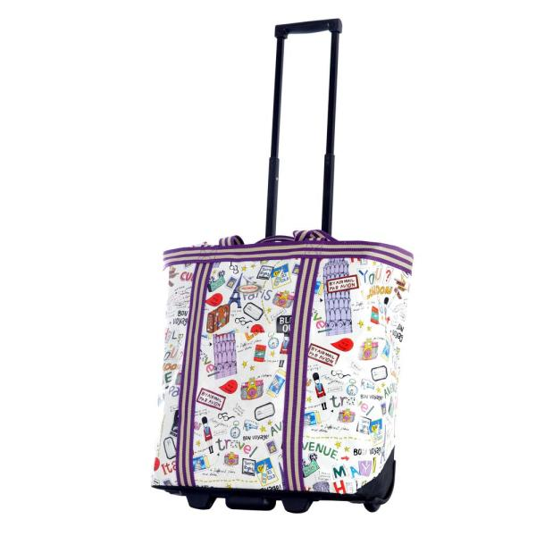 83e4e217f Olympia USA Cosmopolitan City Rolling Shopper Tote RS-310-CT - The ...