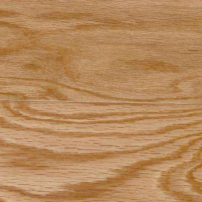 Take Home Sample - Red Oak Natural Solid Hardwood Flooring - 5 in. x 7 in.