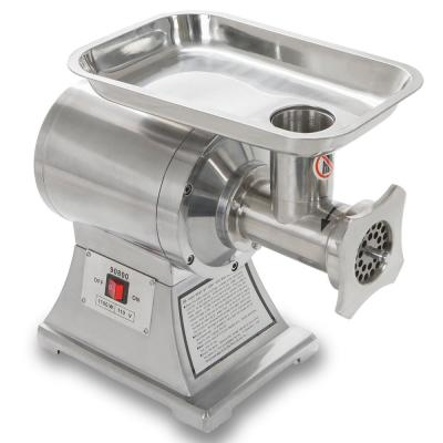 1 HP Stainless Steel Industrial Portable Electric Meat Grinder Mincer Sausage Stuffer