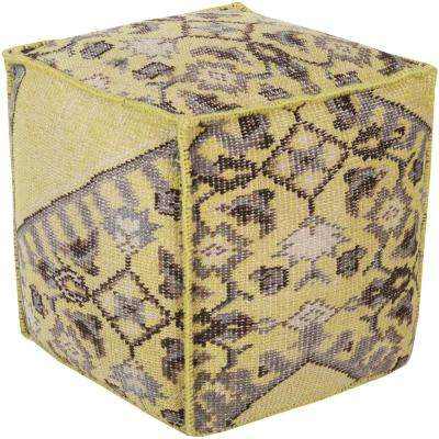 Arcadia Lime Accent Pouf