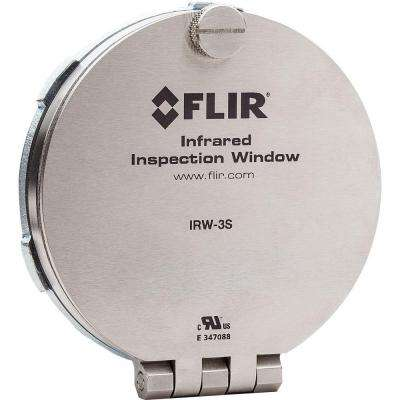 Steel Infrared Inspection Window