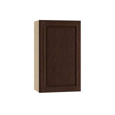 18x30x12 in. Somerset Assembled Wall Cabinet with 1 Door Right Hand in Manganite