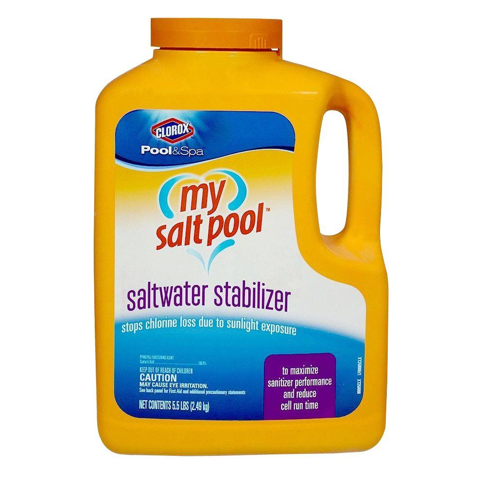 Clorox Pool Amp Spa My Salt Pool Saltwater Stabilizer