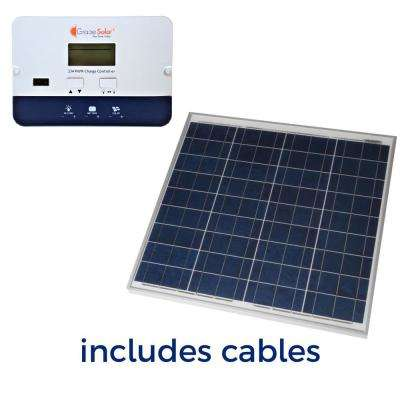 50-Watt Off-Grid Solar Panel Kit