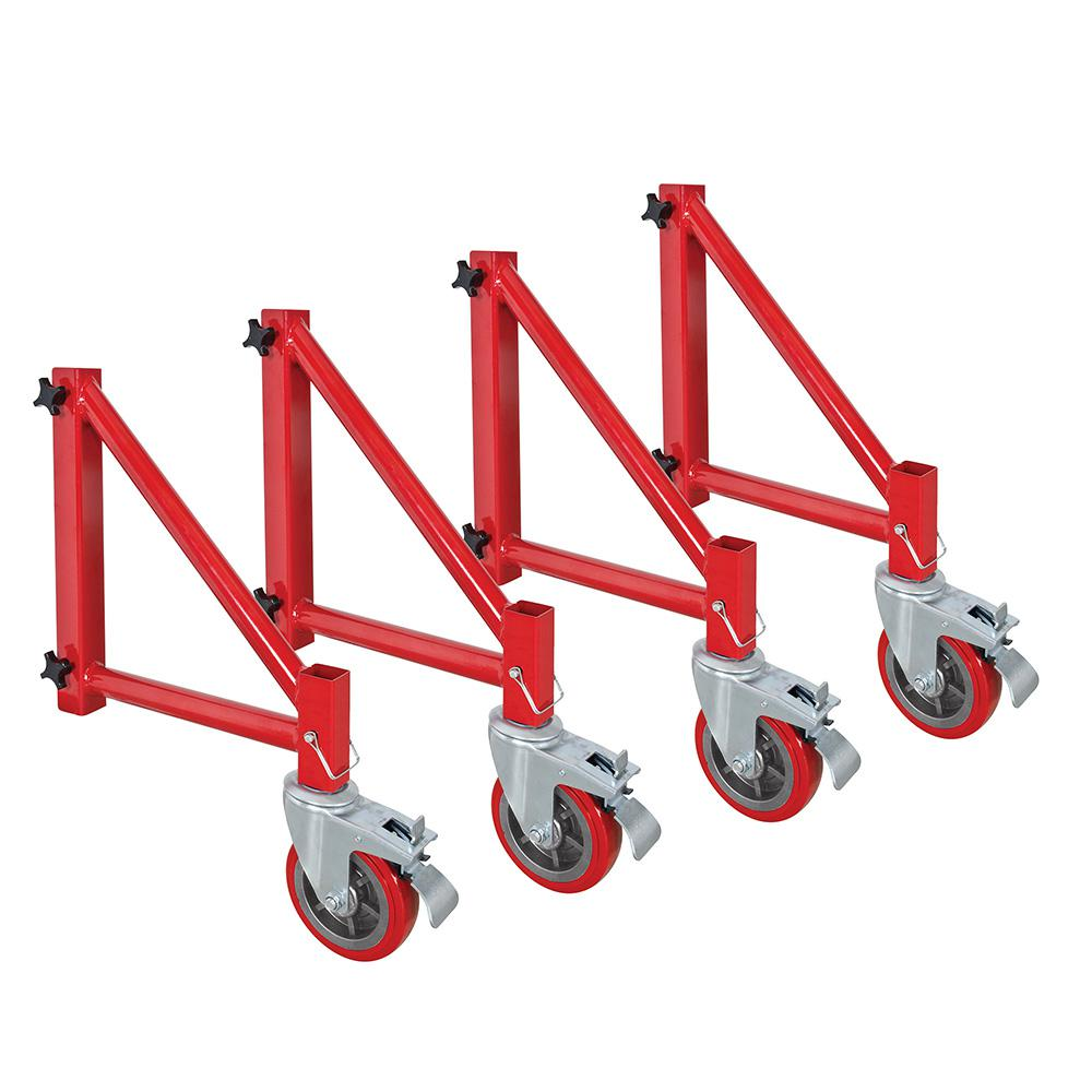 Outrigger Set with 6 in. Casters for I-BMSS (4-Set)