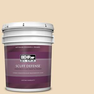 Behr Ultra 5 Gal Bxc 74 Phoenix Villa Extra Durable Eggshell Enamel Interior Paint Primer 275005 The Home Depot