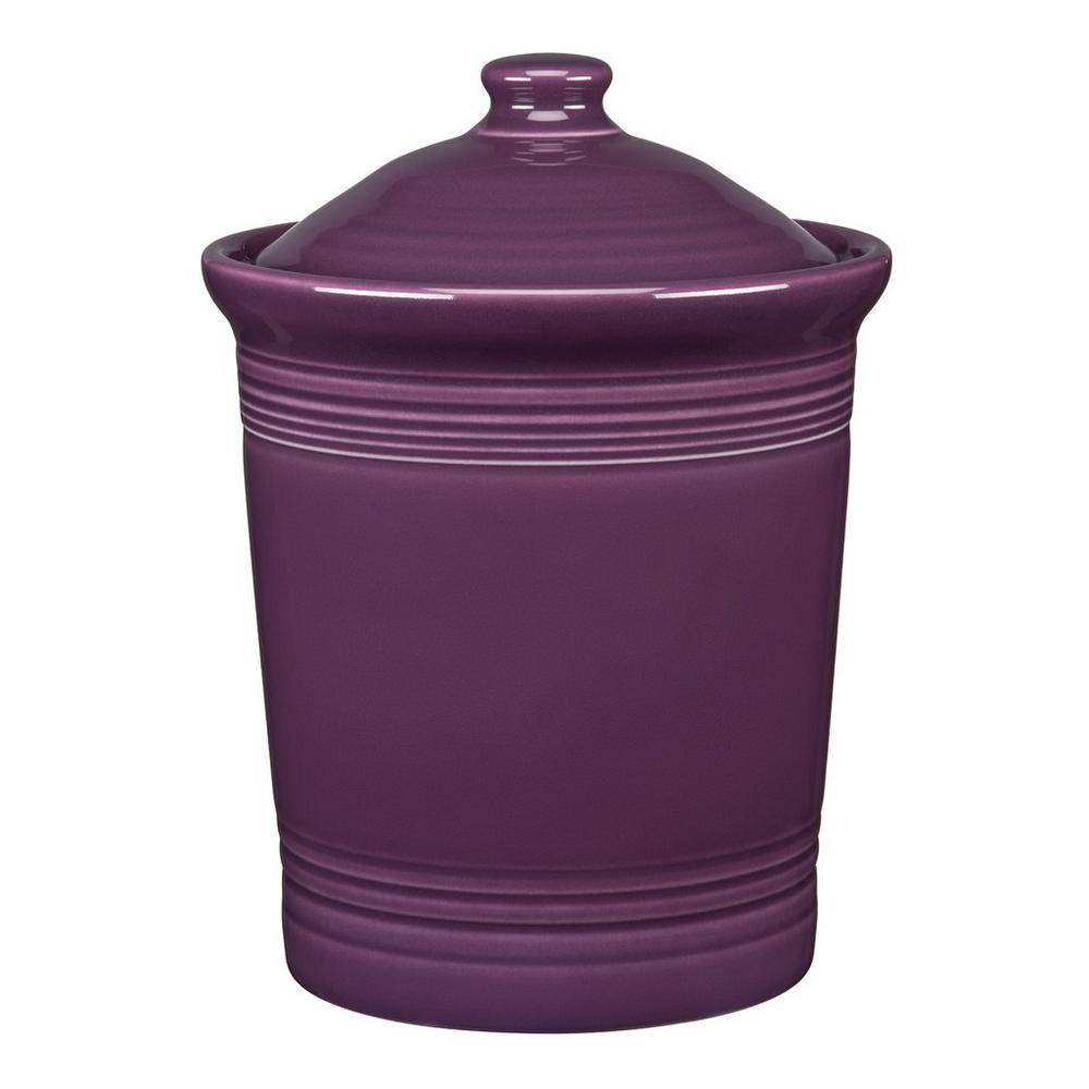 Fiesta Fiesta 2 Qt. Mulberry Medium Canister with Lid, Pink