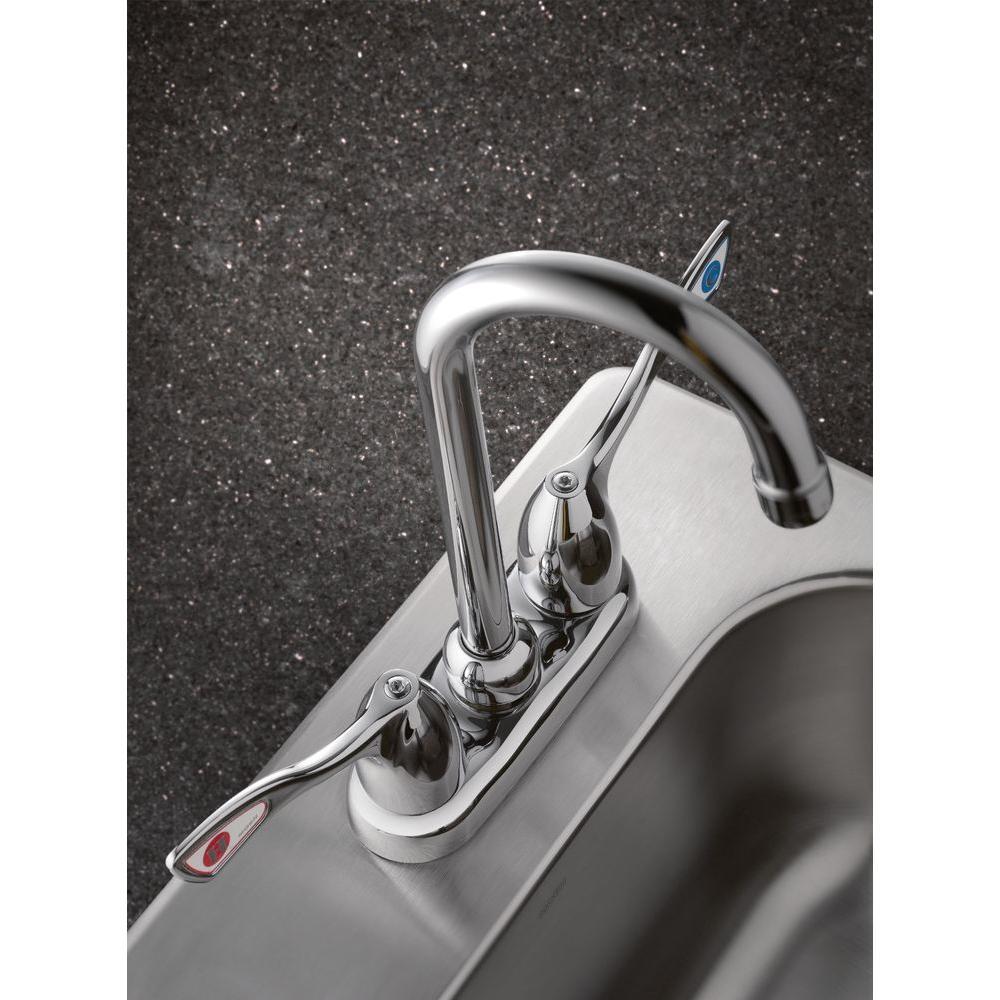 M-Bition 2-Handle Bar Faucet in Chrome