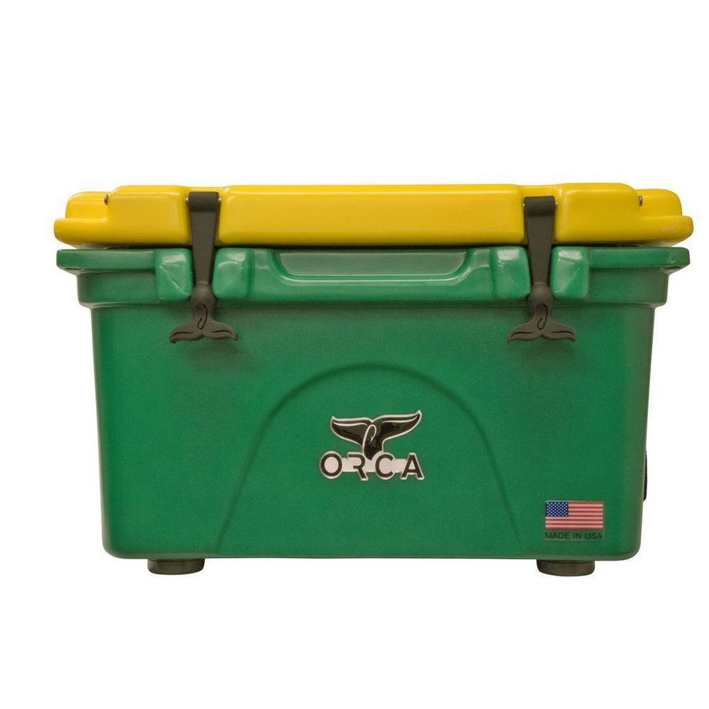 ORCA Green/Yellow 26 Qt. Cooler
