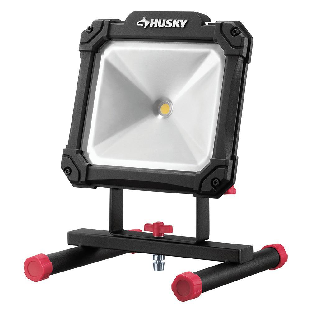 Husky 3500-Lumen Portable LED Work Light