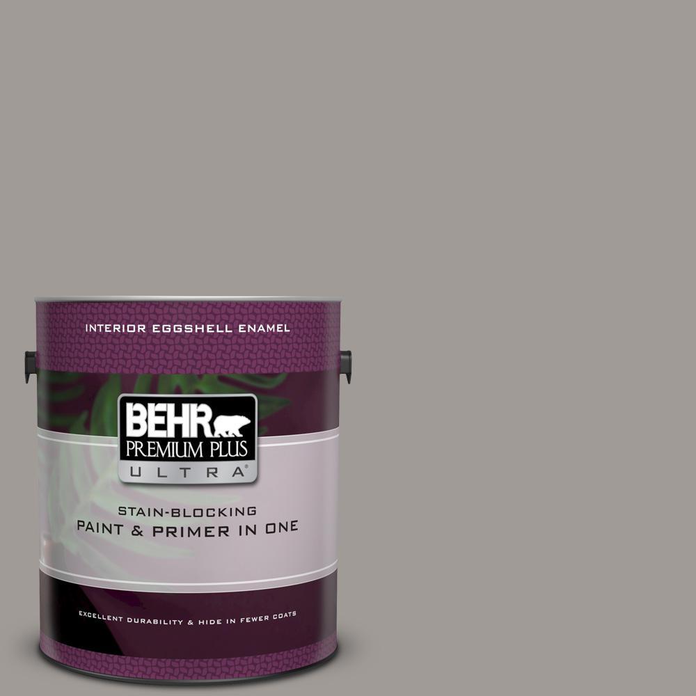 Behr Premium Plus Ultra 1 Gal Ppu18 15 Fashion Gray Eggshell Enamel Interior
