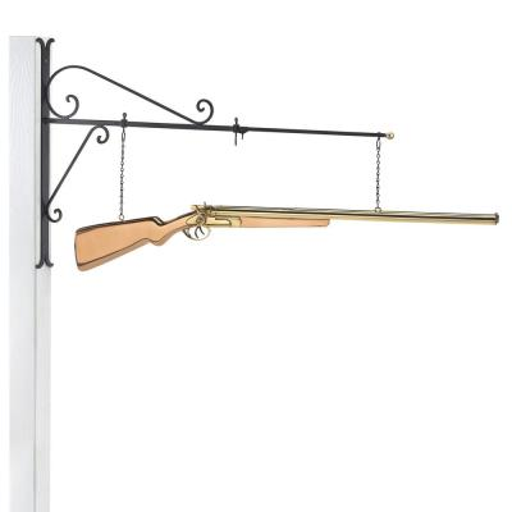 Shotgun Copper Hanging Wall Sculpture - Home Decor