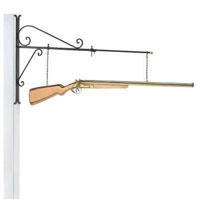 Shotgun Copper Hanging Wall Sculpture - Home Decor