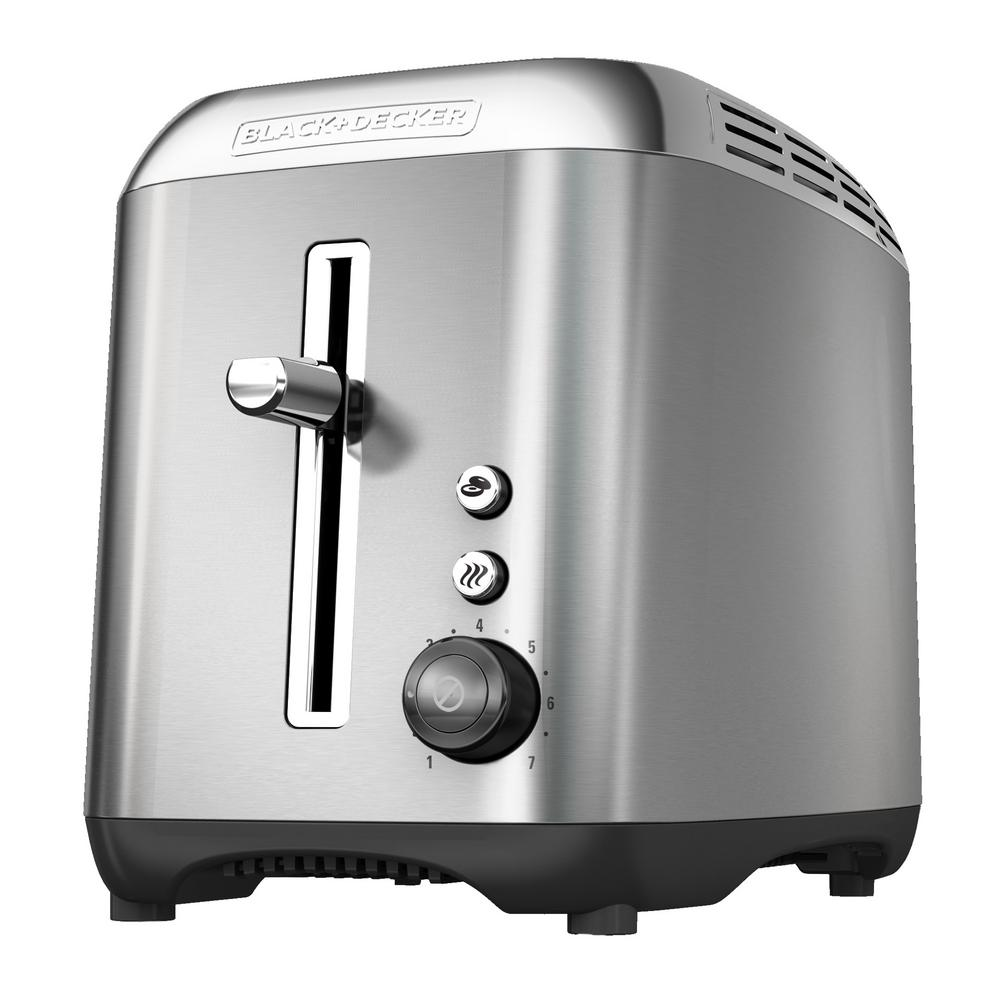 Rapid 2-Slice Stainless Steel Wide-Slot Toaster