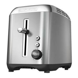 Click here to buy Black & Decker Rapid 2-Slice Stainless Steel Wide-Slot Toaster by BLACK+DECKER.
