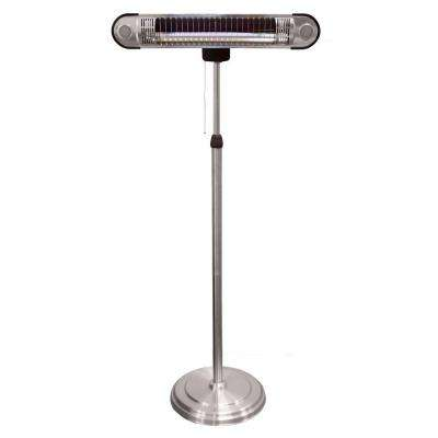 1,500-Watt Adjustable Infrared Heat Lamp Electric Patio Heater