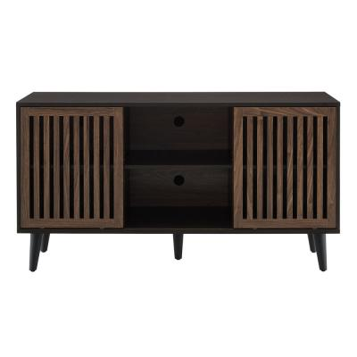 Brockway Walnut TV Stand for TVs up to 55 in.