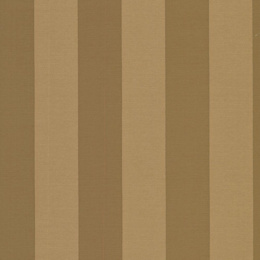 The Wallpaper Company 56 sq. ft. Brown and Green Venetian Silk Stripe Wallpaper